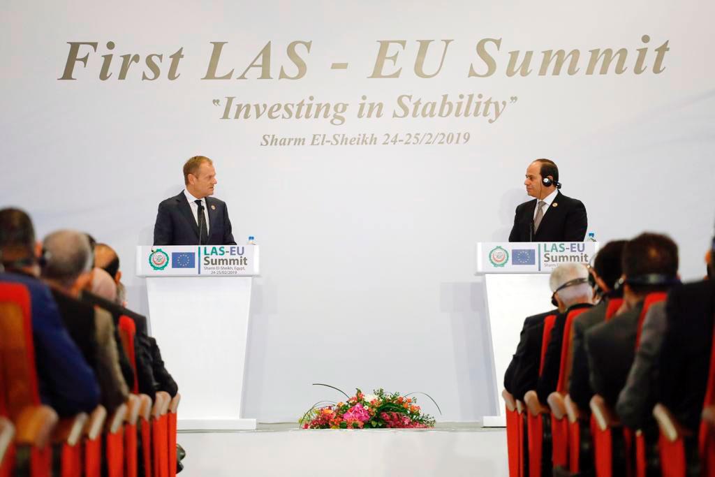 EU & Arab Leaders Meet in First-Ever Summit, Deepening ...
